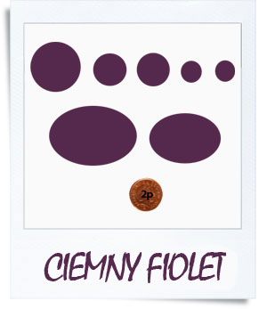 down jacket repair patches - ciemny fiolet