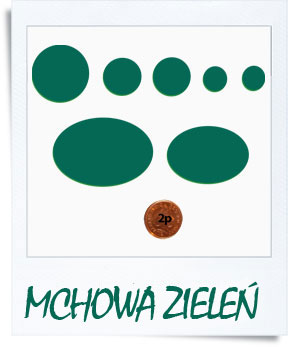 down jacket repair patches - mchowa zieleń